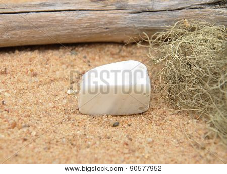 Magnesite On Beach