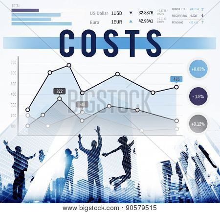 Costs Money Budget Invest Finance Business Concept