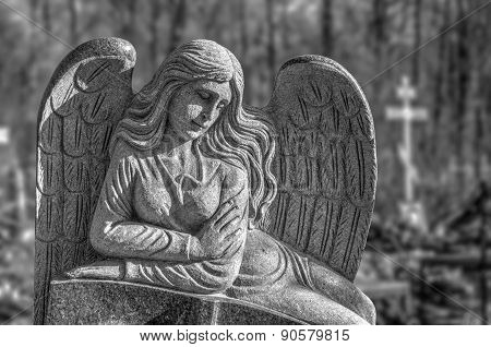 Cemetry Angel Statue