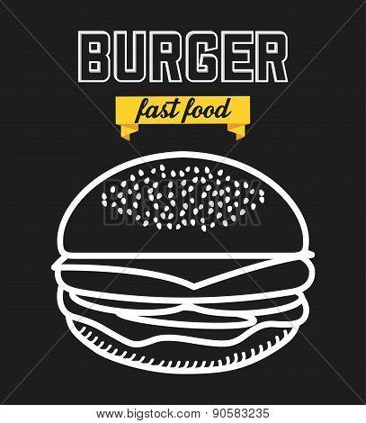 Burger Illustration
