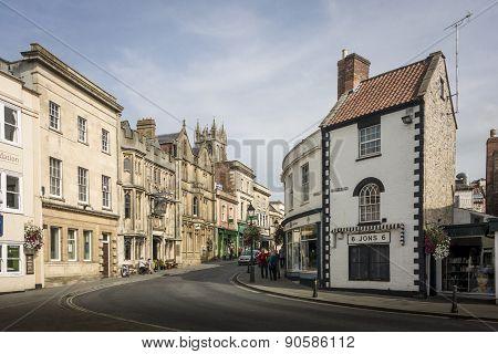 Glastonbury Town Centre