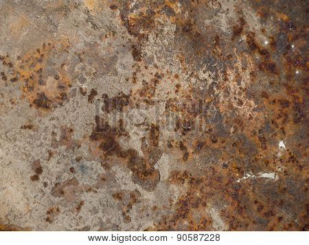 Texture rust on metal. Background