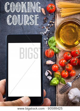 Cooking Course Concept
