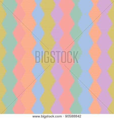 Strip Pattern, Pastel Colors.