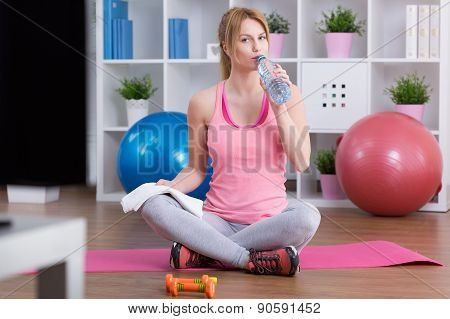 Drinking Water After Training