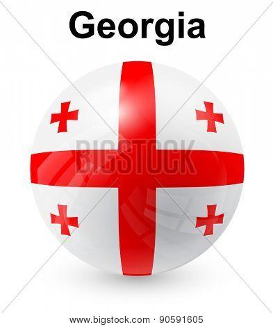 georgia official state flag