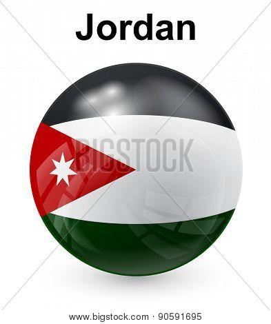 jordan official state flag