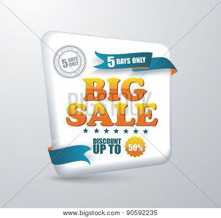 Sale Banner. Shopping.