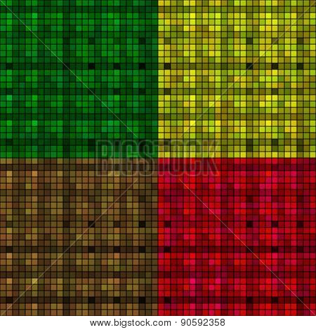 Many-colored Mosaic (4 Square)