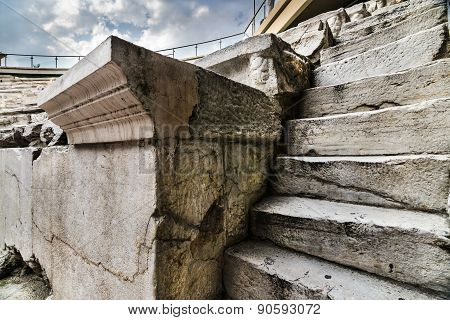 Roman Stadium Stairs