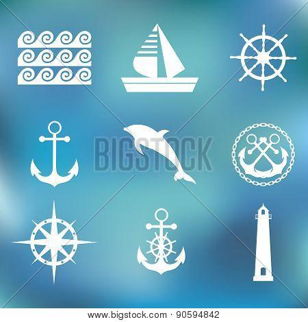 Marine set symbols
