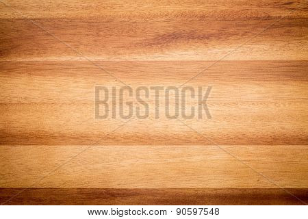 acacia wood texture background - board laminated from narrow planks