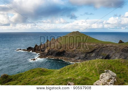 The Rumps On The North Cornwall Coast