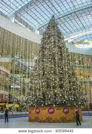 Christmas Decoration At Mall