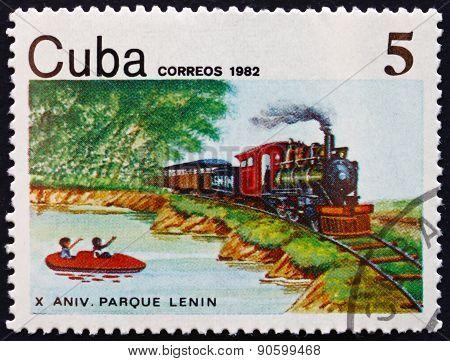Postage Stamp Cuba 1982 Lenin National Park