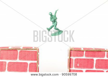 Army Men Guarding Base