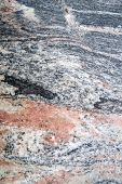 foto of slab  - Presentation section of a slab of marble colored - JPG