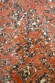 picture of slab  - Presentation section of a slab of marble colored - JPG