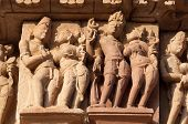 foto of kamasutra  - Stone carved erotic sculptures on on JainTemples - JPG