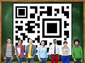 picture of qr-code  - QR Code Identity Business Marketing Concept - JPG