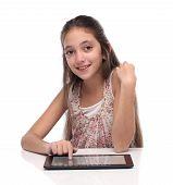 image of pre-teen girl  - Beautiful pre - JPG