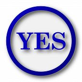 foto of yes  - Yes icon - JPG