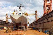 pic of shipbuilding  - Big ship  - JPG