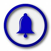 image of blue-bell  - Bell icon - JPG