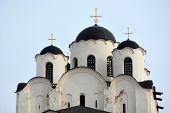foto of nicholas  - Ancient St Nicholas Cathedral in Veliky Novgorod - JPG