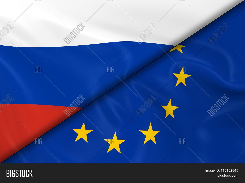 flags russia europe divided image u0026 photo bigstock