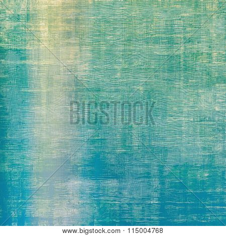 Antique grunge background with space for text or image. With different color patterns: yellow (beige); blue; green; white; cyan