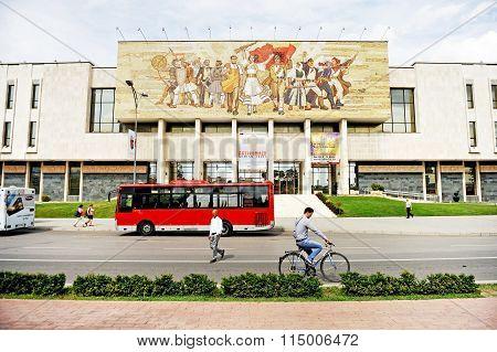 Albania's National History Museum In Tirana