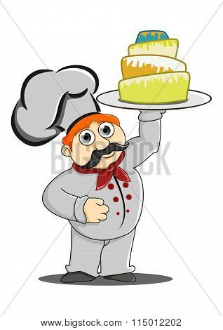 Chef Bring A Cake