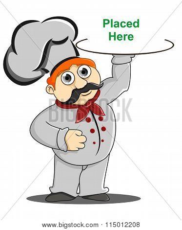 Chef Bring A Cake