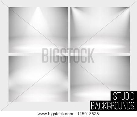 Studio backdrop eps 10 soft light