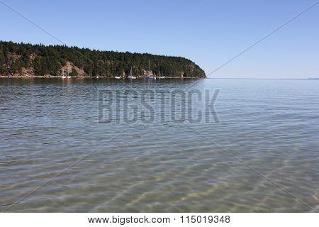 White Beach & Blue Water