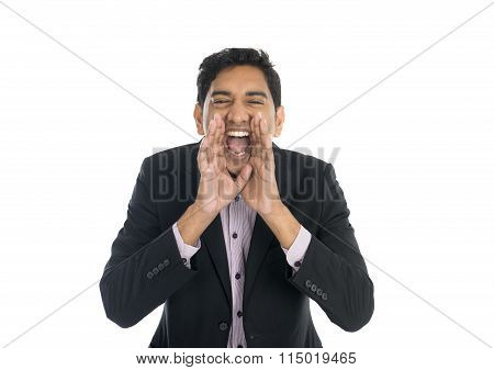 Indian Male Shouting