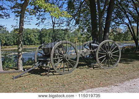 Civil War Field Artillery Wagon
