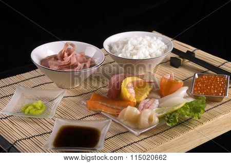 Sashimi table