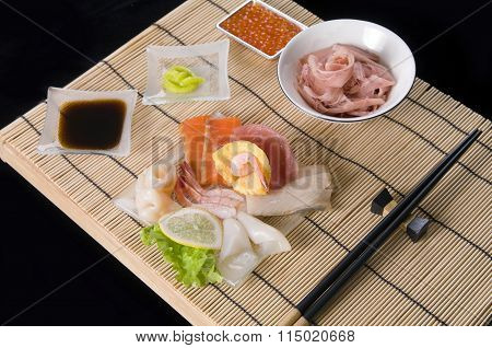 Japanese  Sashimi table