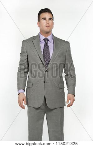 White Male Business Professional