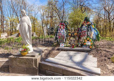 Askold's Graveyard American Colonel Killed Eastern Ukraine/russia War Kiev Ukraine