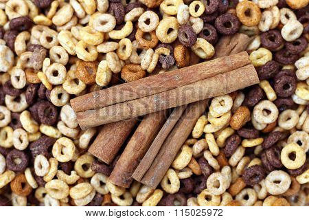 multi grain cereal with cinnamon for flavor