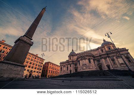 Rome, Italy: Basilica di Santa Maria Maggiore