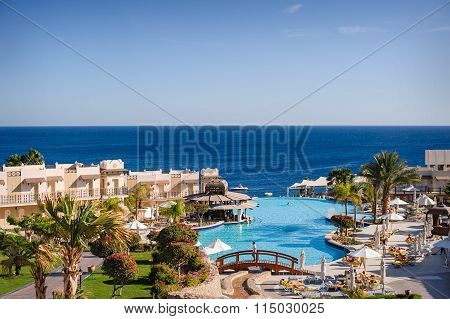 Egypt, Sharm El Sheikh, March 1, 2013, Concorde El Salam Hotel: Holiday In Egypt Sea View