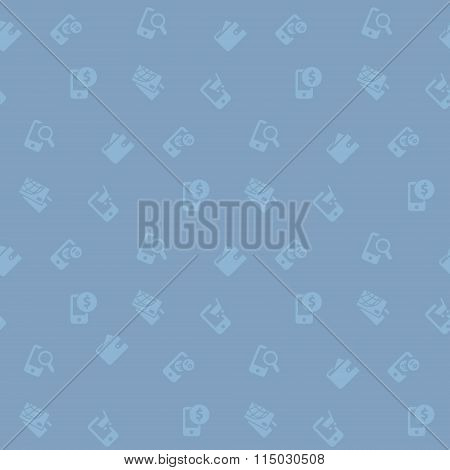 Ecommerce online shopping seamless pattern