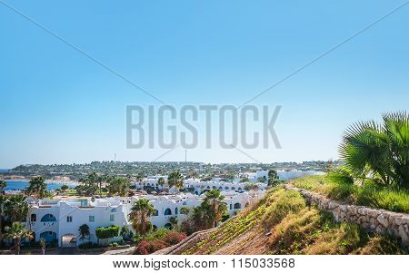 Egypt, Sharm El Sheikh, December 8, 2014, Coral Beach Tiran Resort 4*: Hotel Facade