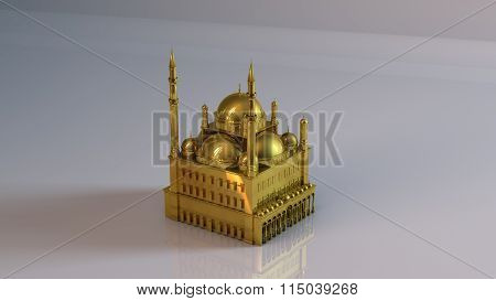 golden mosque