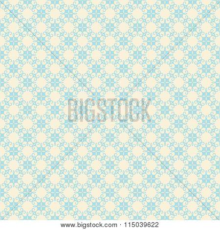 creative retro flora design pattern