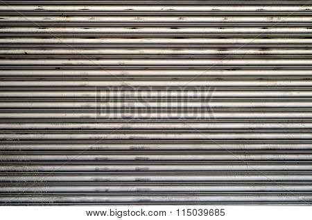 Rough Corrugated Metal Background